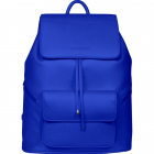 SportsChic Women's Vegan Maxi Tennis Backpack (Classic Blue) -