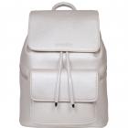 SportsChic Women's Vegan Midi Pickleball Backpack (Titanium) -