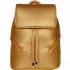 SportsChic Women's Vegan Mini Backpack (Bronze) -