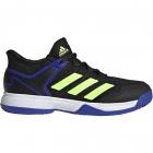Adidas Junior Ubersonic 4 Tennis Shoes (Black/Signal Green/Sonic Ink) -