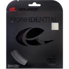 Solinco Confidential 17g Silver Tennis String (Set) -