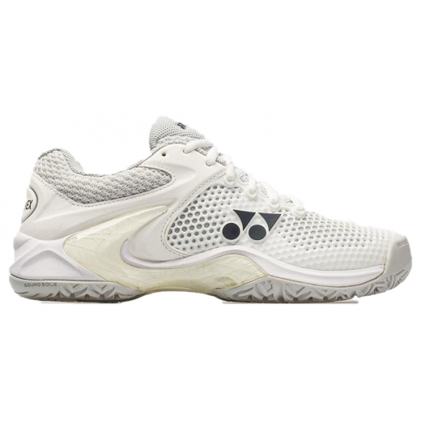 STE2LWSI Yonex Women's Power Cushion Eclipsion II Tennis Shoe (White/Silver)