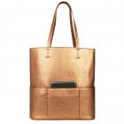 SportsChic Women's Vegan Maxi Tennis Tote Bag (Bronze) -