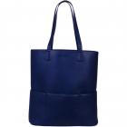 SportsChic Women's Vegan Maxi Tennis Tote Bag (Midnight) -