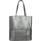 SportsChic Women's Vegan Maxi Tennis Tote Bag (Pewter) -