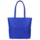 SportsChic Women's Vegan Midi Pickleball Tote Bag (Classic Blue) -
