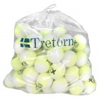 Tretorn Micro-X Pressureless Tennis Balls, Yellow/White (Bag of 72) -