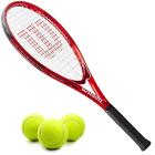 Wilson Pro Staff Precision XL 110 Tennis Racquet Bundled with 3 Tennis Balls -