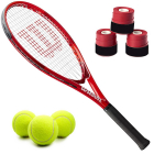 Wilson Pro Staff Precision XL 110 Tennis Racquet Bundled with 3 Overgrips and 3 Tennis Balls -