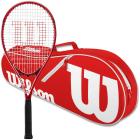 Wilson Pro Staff Precision XL 110 Tennis Racquet Bundled with an Advantage II Tennis Bag -