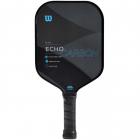 Wilson Echo Carbon Pickleball Paddle (Black/Blue) -