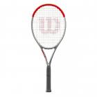 Wilson Clash 100 Silver Tennis Racquet -