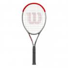 Wilson Clash 100L Silver Tennis Racquet -