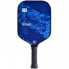 Wilson Echo Camo Pickleball Paddle (Blue) -