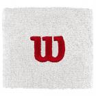 Wilson 'W' Tennis Wristband (White) -