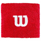 Wilson 'W' Tennis Wristband (Wilson Red) -