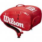 Wilson Super Tour Pickleball Paddlepak (Red/White) -