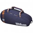 Wilson Limited Edition Roland Garros Clay Team 6 Pack Tennis Bag -