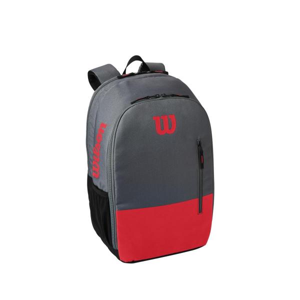 WR8009904001 Wilson Team Red Grey Tennis Backpack