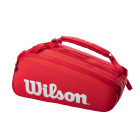 Wilson Super Tour 15 Pack Tennis Bag (Red) -