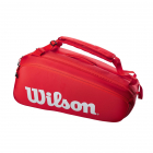 Wilson Super Tour 9 Pack Tennis Bag (Red) -