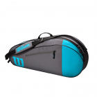 Wilson Team 3 Pack Tennis Bag (Blue/Gray) -