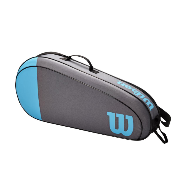 WR8011501001 Wilson Team 3 Pack Blue Grey Tennis Bag