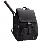 Wilson Women's Fold Over Tennis Backpack (Black) -