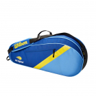 Wilson US Open 3 Pack Tennis Bag (Blue/Yellow/Navy) -
