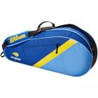 Wilson US Open 3 Pack Tennis Bag (Blue/Yellow/Navy) -