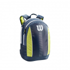 Wilson Junior Tennis Backpack (Navy/Lime Green/White) -