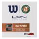 Wilson Duo Power Roland Garros Wilson/Luxilon Tennis String -