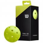Wilson Tru 32 Outdoor Pickleball Ball 2 Pack (Yellow) -