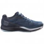 Wilson Women's Rush Pro 3.5 Tennis Shoe (Majolica Blue/Outerspace/White) -