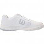 Wilson Men's Rush PRO 2.5 Tennis Shoes (White/White/Pearl Blue) -