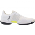 Wilson Men's KAOS Swift Tennis Shoes (White/Outerspace/Safety Yellow) -