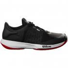 Wilson Men's KAOS Swift Tennis Shoes (Black Pearl/Blue/Wilson Red) -