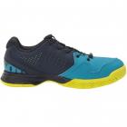 Wilson KAOS Junior QL Tennis Shoes (Barrier Reef/Navy Blazer/Lime Popsicle) -
