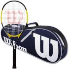 Wilson Energy XL Tennis Racquet Bundled with an Advantage II Tennis Bag -