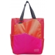Maggie Mather Three Tone Tennis Tote (Org/ Red/ Fuc) - Maggie Mather Three Tone Tennis Bags