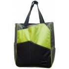 Maggie Mather Three Tone Tennis Tote (Lim/ Pew/ Blk) - Three Tone Totes