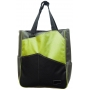 Maggie Mather Three Tone Tennis Tote Lim/ Pew/ Blk)