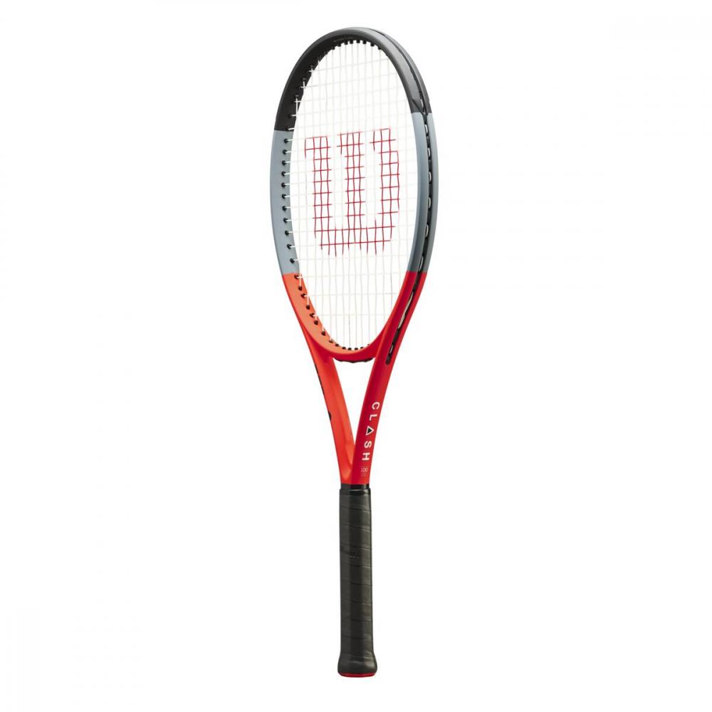 WR005631U Wilson Clash 100 Reverse Tennis Racquet
