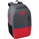 Wilson Team Tennis Backpack (Red/Gray) -