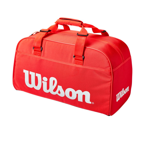 WR8011001001.WILSON SUPER TOUR SMALL DUFFLE INFRARED