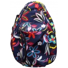 Jet Navy Floral Knock Off Backpack - Designer Tennis Backpacks