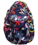 Jet Navy Floral Knock Off Backpack - Tennis Racquet Bags