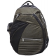 Jet Checkered Olive Tennis Backpack - Jet Bags