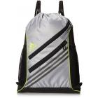 adidas Strength Sackpack (Mid Grey/Semi Solar Yellow) - Adidas Tennis Bags