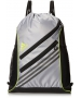 adidas Strength Sackpack (Mid Grey/Semi Solar Yellow) - New Tennis Bags